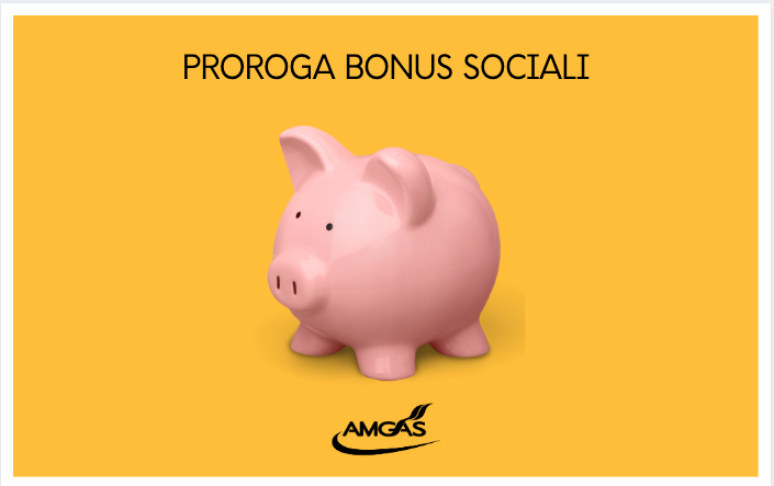 Proroga bonus sociali Arera